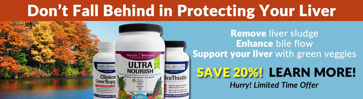 Save 20% on the BEST Liver Protection Package that money can buy!