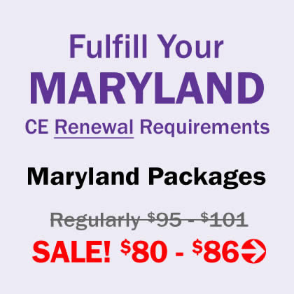 Fulfill Your MARYLAND CE Requirements